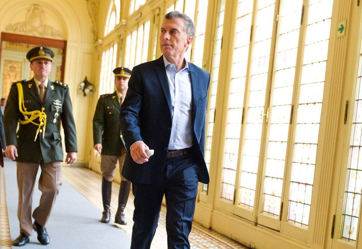 Macri en reunión de gabinete