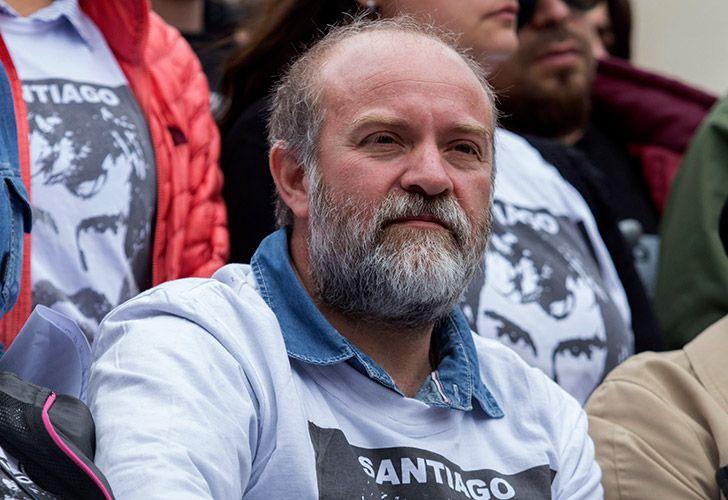 Sergio Maldonado, hermano del artesano Santiago Maldonado.