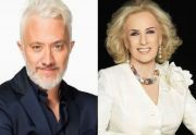 Andy Kusnetzoff y Mirtha Legrand