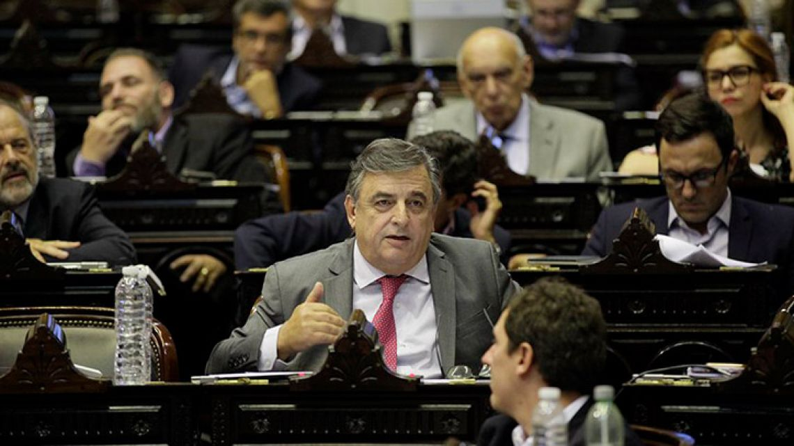 Mario Negri, Leader of the Radical Party (UCR) minority bloc in the Lower House.