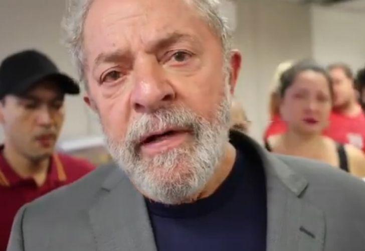 Rechazan recurso que buscaba declarar inelegible a Lula da Silva