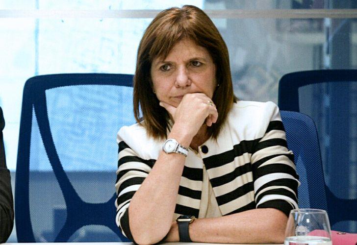 Patricia Bullrich pidió que los militares