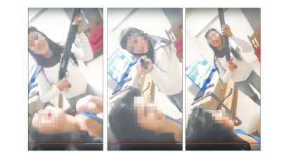 """Chicas bravas. Uno de los videos con mujeres que se exhiben """"a todo ritmo""""."""