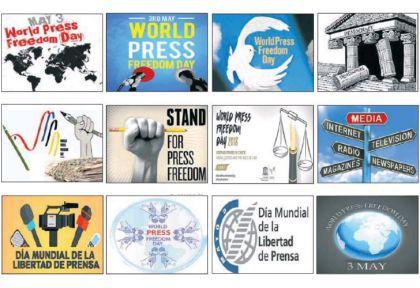 EL DIA INTERNACIONAL DE LA LIBERTAD DE PRENSA se celebra en todos los países del mundo desde hace un cuarto de siglo, cuando lo proclamó Naciones Unidas.