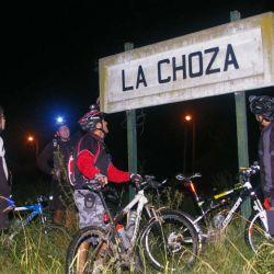 Llegando a La Choza