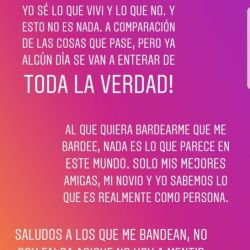 Mensaje Morena Rial a Jorge Rial (2)