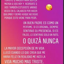Mensaje Morena Rial contra Jorge Rial (2)