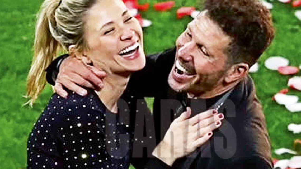 Deportivo: La tierna imagen del Cholo Simeone con su hija recién nacida
