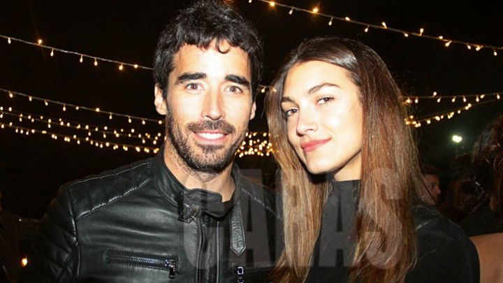 Nacho Viale y Lucía Pedraza, juntos en Nueva York