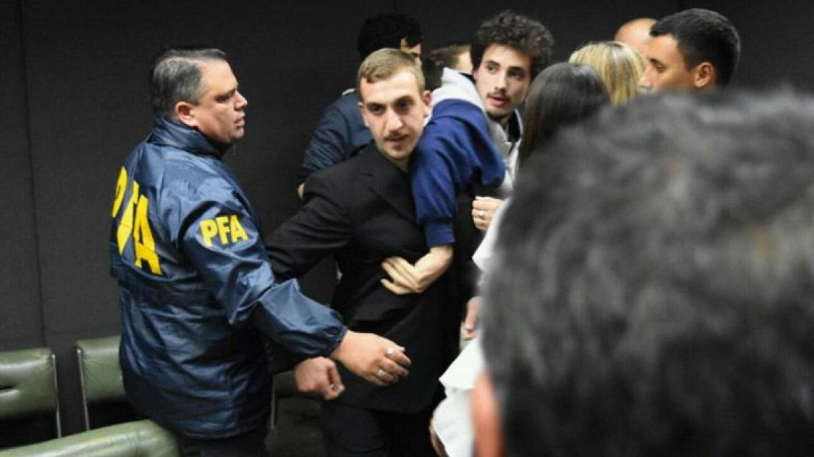 Members of a neo-Nazi group in Mar del Plata receive prison sentences of four to nine years.