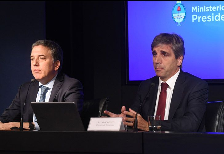 Conferencia de prensa de Nicolás Dujovne