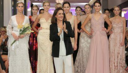La diseñadora Susana Ortiz, que hace 30 años trabajó al lado de Carlos Didoménico, hoy es una creadora consagrada.