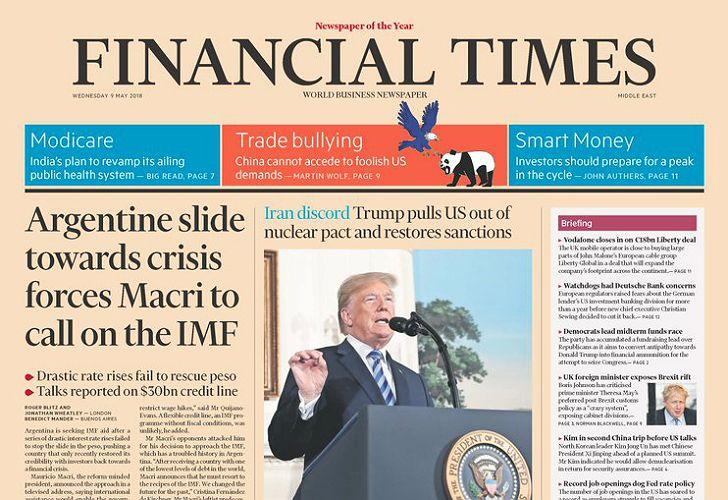 Vuelta al FMI: cómo reaccionaron los principales medios ...
