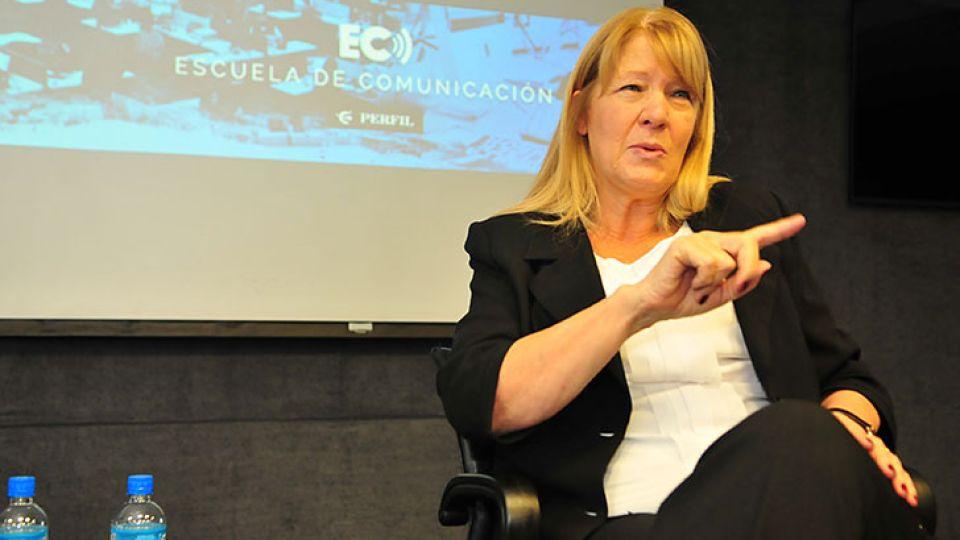 Margarita Stolbizer, líder el Partido GEN