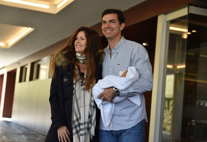 Macedo y Urtubey presentaron a su bebé 05112018
