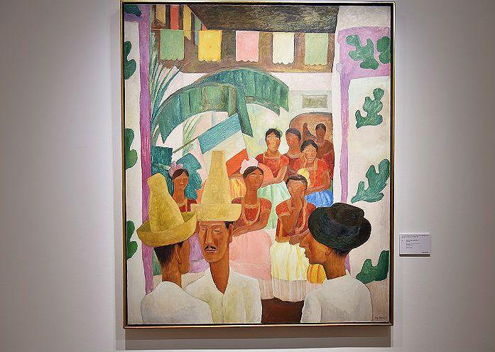 Los Rivales, de Diego Rivera, se vendió en 9,7 millones de dólares.
