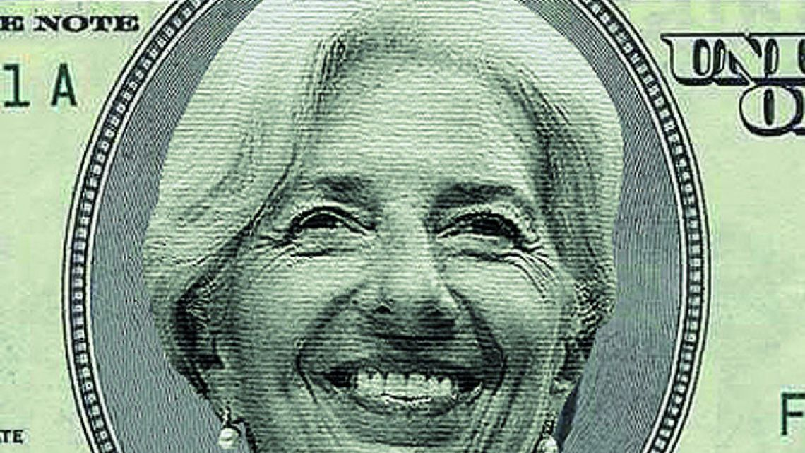 Christine Lagarde director of the IMF