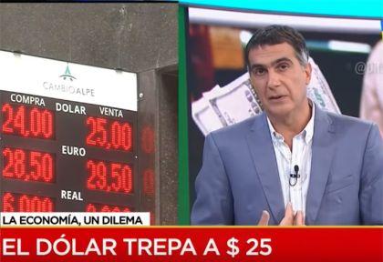 El Dólar sube mientras Laje habla