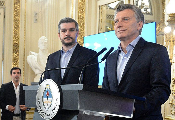 Marcos Peña Mauricio Macri