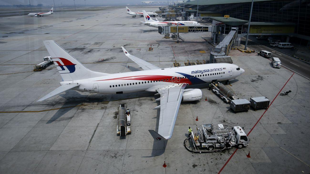 El MH370 de Malaysia Airlines desapareció hace 4 años en pleno vuelo.
