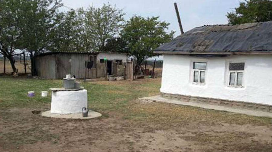 La humilde casa de Koku Istambulova en Chechenia.