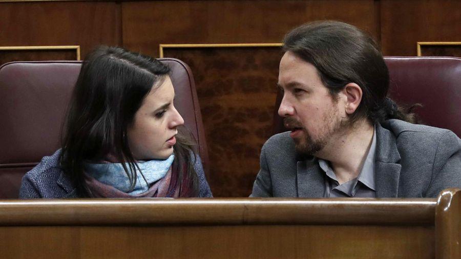 Pablo Iglesias e Irene Montero05172018