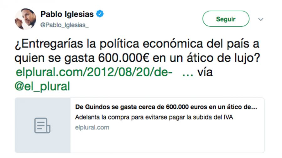 Twitter Pablo Iglesias05172018