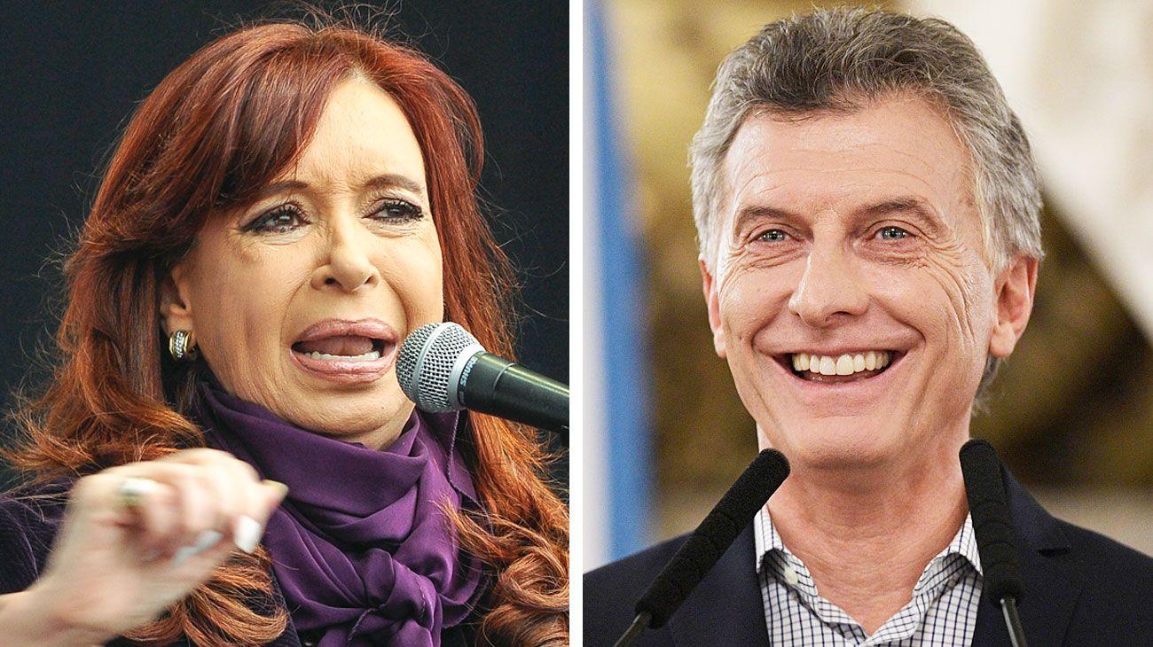 Muy distintos. La última etapa del kirchnerismo se destacó por una fuerte presencia de Cristina en los medios. Macri intenta dar un mensaje diferente.