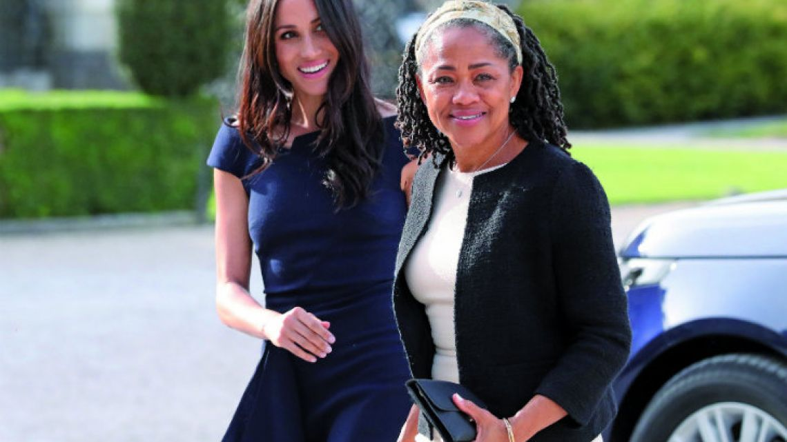 Meghan Markle and her mother Doria Ragland.
