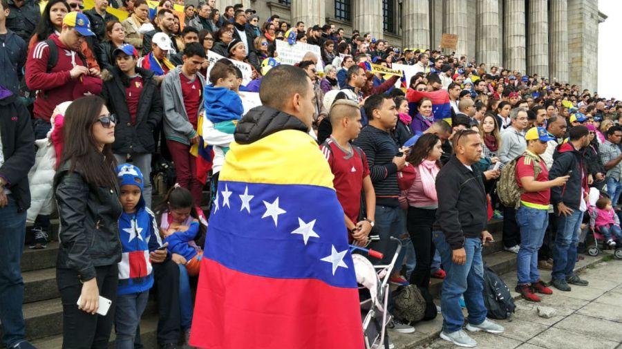 Más de 300 personas se reunieron en Facultad de Derecho este domingo