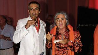 Juan Manuel Campillo con Carlo Di Doménico
