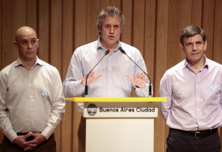 El jefe de Gabinete porteño, Felipe Miguel, rechazó hoy los