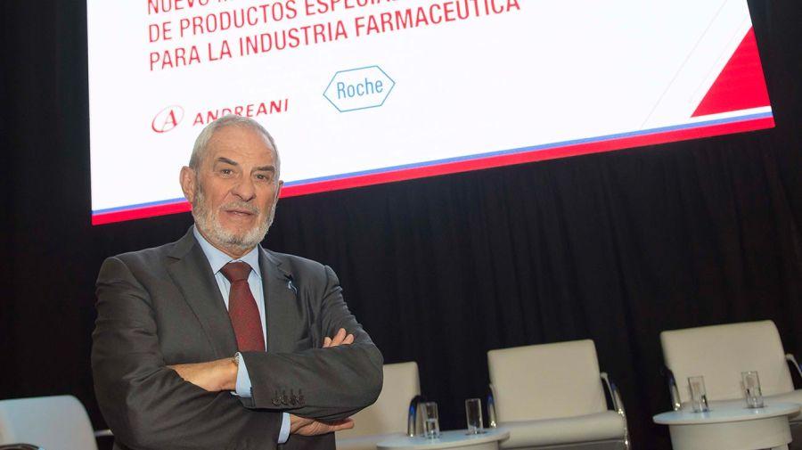 El Presidente Andreani, Oscar Andreani.