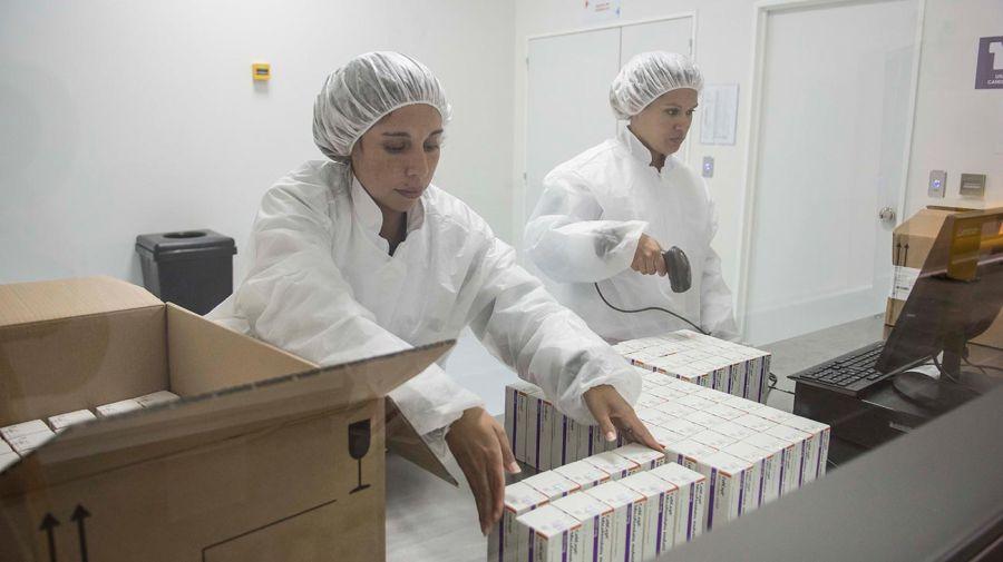 La planta CyPE- Canales y Productos Especiales tiene características parecidas a una planta farmacéutica.