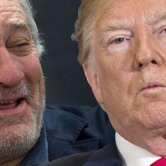 De Niro y Trump, nunca comerán juntos...