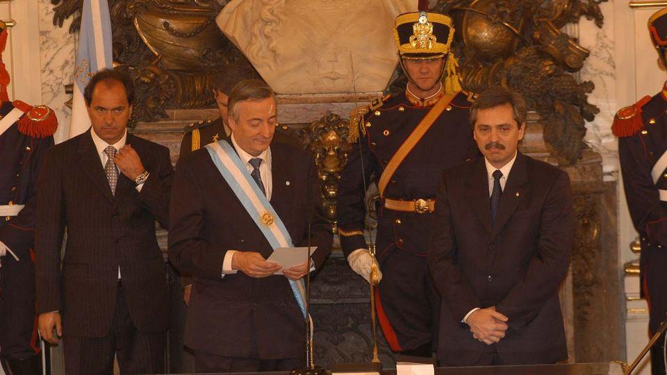 Asunción de Néstor Kirchner