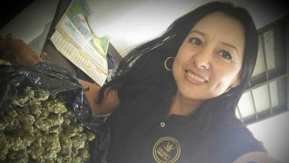 """La mujer de 47 años era reconocida por tener una agencia turística que promovía la """"ruta de la marihuana"""" en Colombia."""