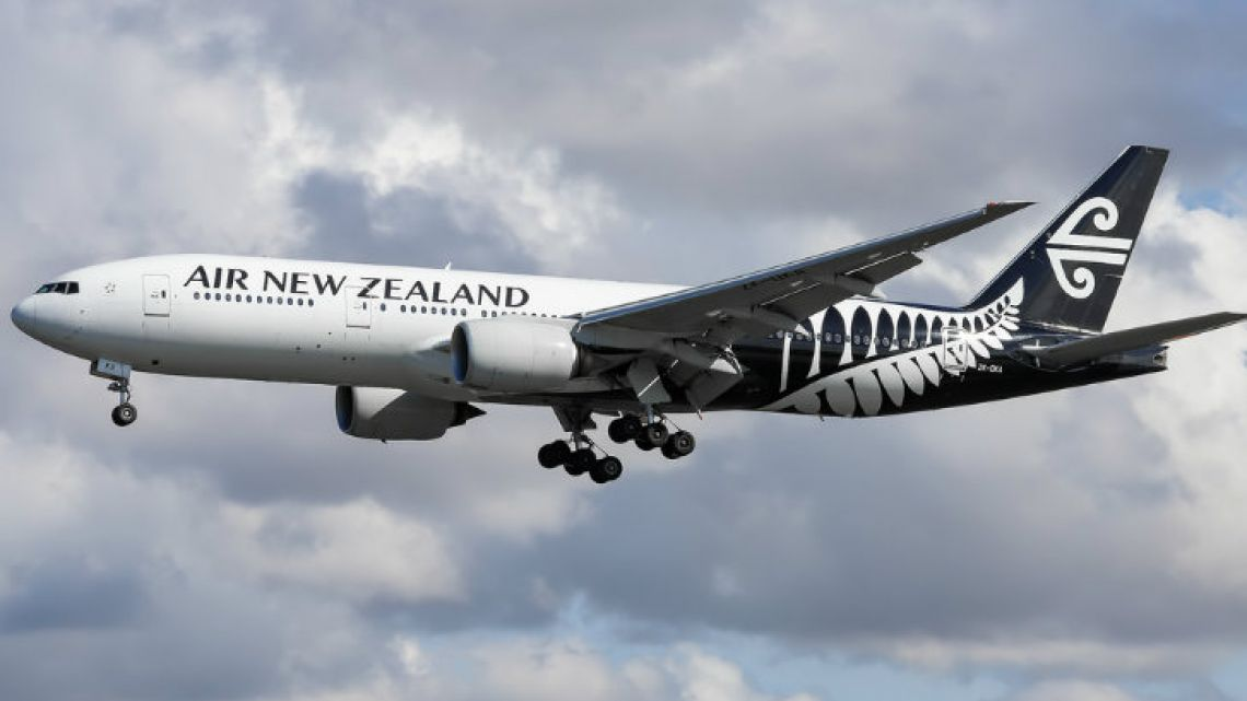 Air New Zealand's jet
