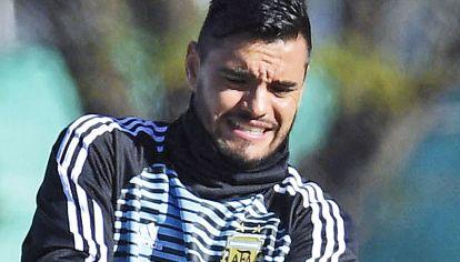 Lesionado. La polémica por Romero duró poco. Al otro día, ya estaba Guzmán.