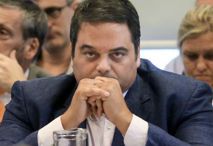 El ministro de Trabajo, Jorge Triaca. 20180530