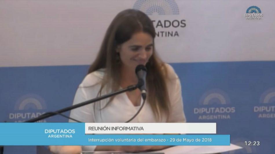 Mariana Rodríguez Varela congreso 20180530