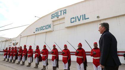 Macri llegó esta mañana a la provincia de Salta