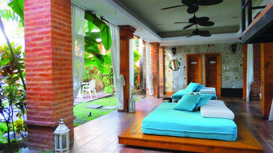Sector de Spa en el Hotel Casa Grande