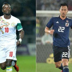 Senegal vs Japón