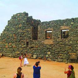Las ruinas de Bushiribana una antigua mina de oro en Aruba