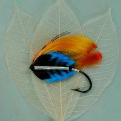 Mosca de plumas naturales de Edwin Rist