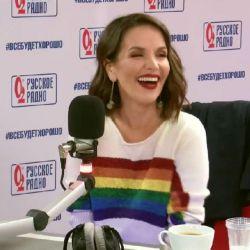 Natalia Oreiro-Rusia-Bandera LGBT