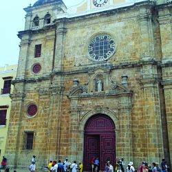 Uno de los tantos hermosos edificios de Cartagena