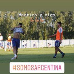 Marcos Rojo historia Instagram