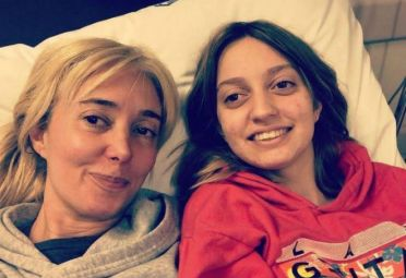 Marisa Brel y su hija